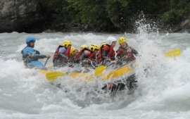 White water rafting is an experience not to be missed