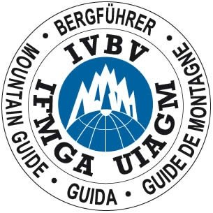 qualified mountain guide logo